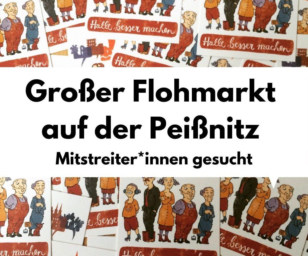 Großer Flohmarkt auf der Peißnitz