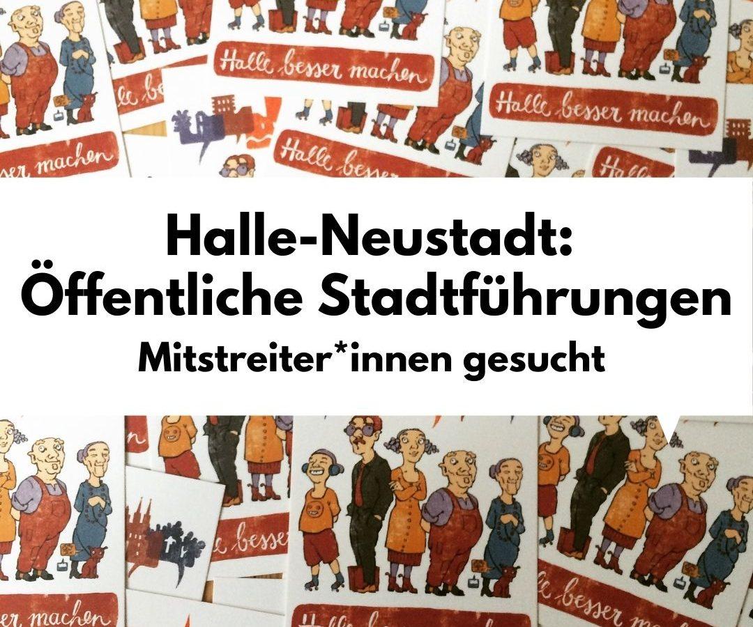 Halle-Neustadt: Öffentliche Stadtführungen